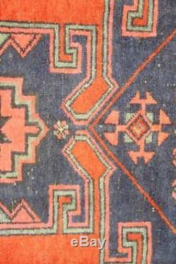 Persian Traditional Vintage Wool 3.5 X 6 Handmade Rugs Oriental Rug Carpet