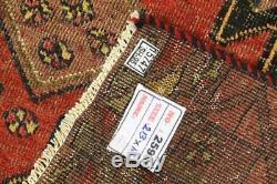 Persian Traditional Vintage Wool 3.5 X 7 Handmade Rugs Oriental Rug Carpet