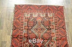 Persian Traditional Vintage Wool 3.6 X 4.8 Handmade Rugs Oriental Rug Carpet