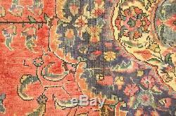 Persian Traditional Vintage Wool 3.6 X 5.3 Oriental Rug Handmade Carpet Rugs