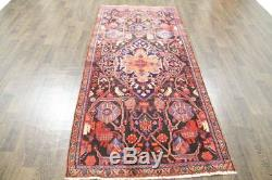 Persian Traditional Vintage Wool 3.8 X 8.3 Handmade Rugs Oriental Rug Carpet