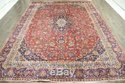 Persian Traditional Vintage Wool 8.8 X 11.9 Oriental Rug Handmade Carpet Rugs