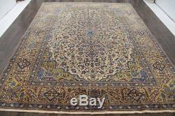 Persian Traditional Vintage Wool 9.6 X 12.6 Handmade Rugs Oriental Rug Carpet