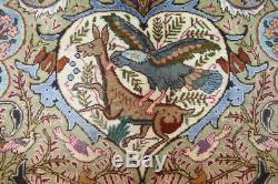 Persian Traditional Vintage Wool 9.8 X 12.5 Oriental Rug Handmade Carpet Rugs