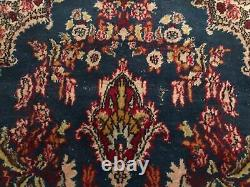 Pretty Vintage Antique Hand Knotted Oriental Rug 4' By 7