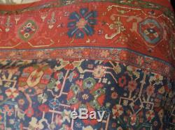 Rare Ralph Lauren Orienta King Flat Sheet Vintage Persian Rug Pattern