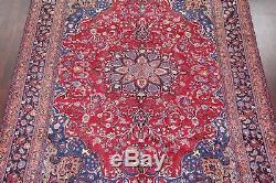 Spring Deal Vintage Floral 10x13 Mashad Persian Oriental Area Rug 12' 5 x 9' 7