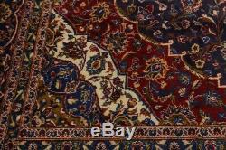 Stunning Handmade Navy Blue Vintage Persian Rug Oriental Area Carpet 10X13