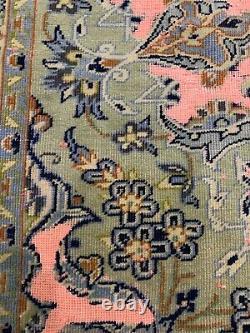 Stunning Overdyed Antique 9x12 Oriental Rug Piece Of Art