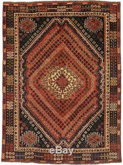 Stunning Pattern Rare S Antique Vintage Persian Rug Oriental Area Carpet 5'7X7'9