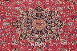 Super Deal Enchanting Vintage Floral 10x13 Wool Mashad Persian Oriental Area Rug