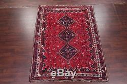 Top Deal 7x10ft Vintage Geometric Tribal Shiiraz Wool Persian Oriental Area Rug