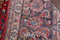 Traditional Floral Vintage Handmade 10'x14' Najafabad Oriental Area Rug