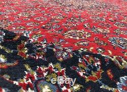 Traditional Vintage Persain Kashaan Acrylic Wool Area Rug 13 x 10
