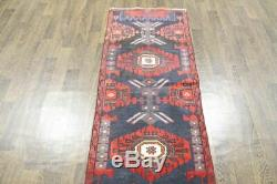 Traditional Vintage Persian Wool 2.3 X 9.7 Handmade Rugs Oriental Rug Carpet