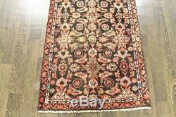 Traditional Vintage Persian Wool 2.6 X 5.2 Handmade Rugs Oriental Rug Carpet