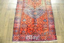 Traditional Vintage Persian Wool 3.1 X 6.9 Handmade Rugs Oriental Rug Carpet