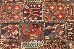 Traditional Vintage Persian Wool 3.1 X 7.9 Oriental Rug Handmade Carpet Rugs