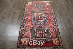 Traditional Vintage Persian Wool 3.3 X 5.8 Oriental Rug Handmade Carpet Rugs