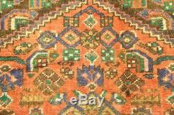 Traditional Vintage Persian Wool 3.3 X 6.4 Handmade Rugs Oriental Rug Carpet