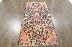 Traditional Vintage Persian Wool 3.3 X 8.2 Handmade Rugs Oriental Rug Carpet