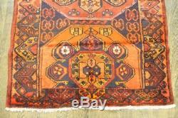 Traditional Vintage Persian Wool 3.5 X 3.8 Handmade Rugs Oriental Rug Carpet