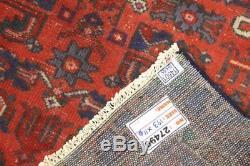 Traditional Vintage Persian Wool 3.6 X 6.3 Handmade Rugs Oriental Rug Carpet