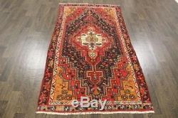 Traditional Vintage Persian Wool 3.7 X 7 Handmade Rugs Oriental Rug Carpet