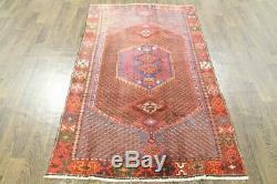 Traditional Vintage Persian Wool 3.8 X 6.4 Oriental Rug Handmade Carpet Rugs
