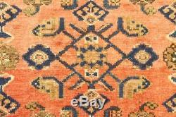 Traditional Vintage Persian Wool 3.8 X 6.6 Handmade Rugs Oriental Rug Carpet
