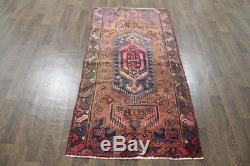 Traditional Vintage Persian Wool 3 X 5.9 Handmade Rugs Oriental Rug Carpet