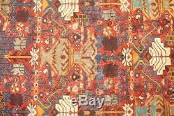 Traditional Vintage Persian Wool 4.4 X 6.6 Handmade Rugs Oriental Rug Carpet