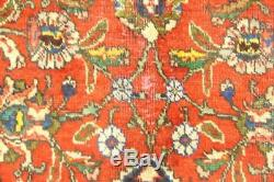 Traditional Vintage Persian Wool 5.9 X 9.1 Handmade Rugs Oriental Rug Carpet
