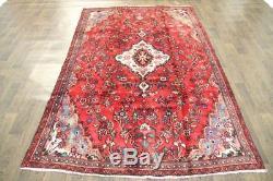 Traditional Vintage Persian Wool 5 X 8 Handmade Rugs Oriental Rug Carpet