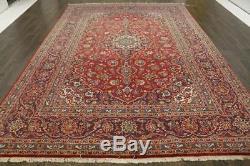 Traditional Vintage Persian Wool 7.7 X 11.3 Oriental Rug Handmade Carpet Rugs