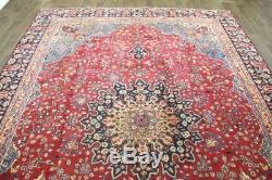 Traditional Vintage Persian Wool 8.4 X 11.8 Handmade Rugs Oriental Rug Carpet