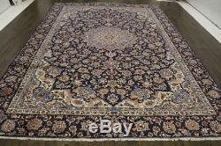 Traditional Vintage Persian Wool 8.9 X 12.7 Handmade Rugs Oriental Rug Carpet