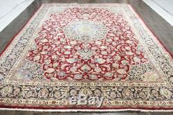 Traditional Vintage Persian Wool 9.7 X 12.6 Handmade Rugs Oriental Rug Carpet