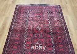 Traditional Vintage Wool Handmade Classic Oriental Area Rug Carpet164X100cm