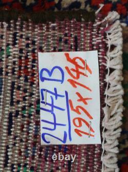 Traditional Vintage Wool Handmade Classic Oriental Area Rug Carpet195X145cm
