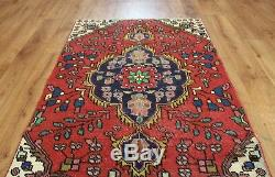 Traditional Vintage Wool Handmade Classic Oriental Area Rug Carpet 127 X 84 cm