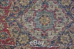 Traditional Vintage Wool Handmade Classic Oriental Area Rug Carpet 137X 117cm