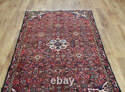 Traditional Vintage Wool Handmade Classic Oriental Area Rug Carpet 147 X 86 cm