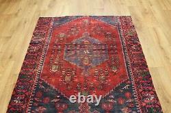 Traditional Vintage Wool Handmade Classic Oriental Area Rug Carpet 158 X 108 cm