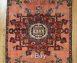 Traditional Vintage Wool Handmade Classic Oriental Area Rug Carpet 170X102 cm