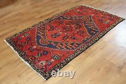 Traditional Vintage Wool Handmade Classic Oriental Area Rug Carpet 177 X 100cm