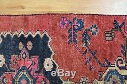 Traditional Vintage Wool Handmade Classic Oriental Area Rug Carpet 180 X90 cm