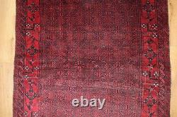 Traditional Vintage Wool Handmade Classic Oriental Area Rug Carpet 180 X 109 cm