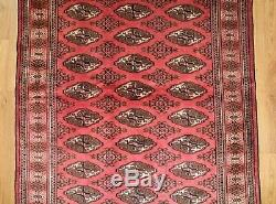 Traditional Vintage Wool Handmade Classic Oriental Area Rug Carpet 195cmX124cm
