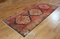 Traditional Vintage Wool Handmade Classic Oriental Area Rug Carpet 204 X 92 cm